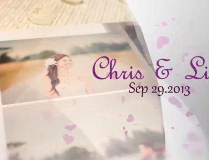 Chris&Lizx Wedding Video