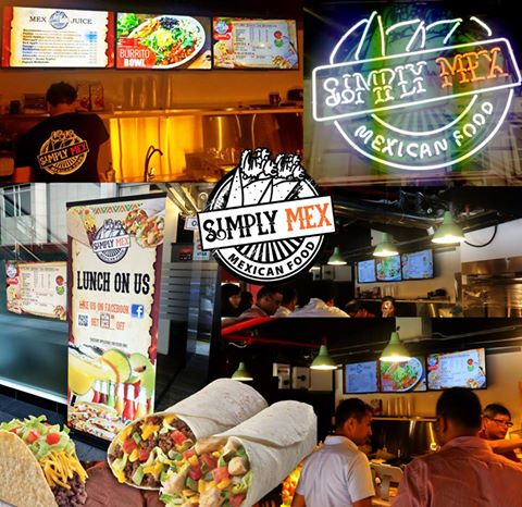 Simply Mex Mexican Bistro Digital Menu & Signage